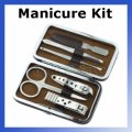 Wholesale Men Manicure Grooming Set Kit Nail Clipper Leather...